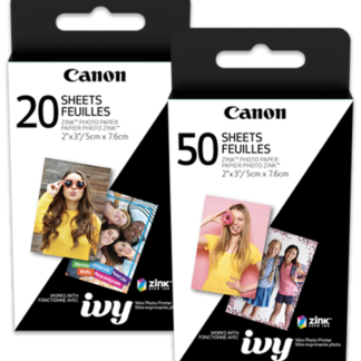 Canon Zink photo paper