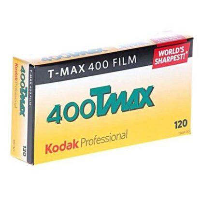 Kodak 400Tmax 120mm film (5 rolls in a pack)