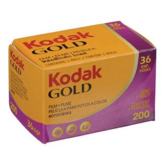 Kodak Gold 35mm color film 36 exp ISO 200