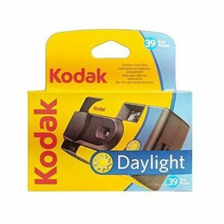 Kodak Daylight color disposable camera 39 photos per camera
