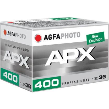 AGFA APX 400 ISO black & white 35mm film