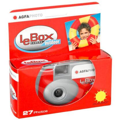 AGFA LeBox disposable camera 400 ISO 27 photos